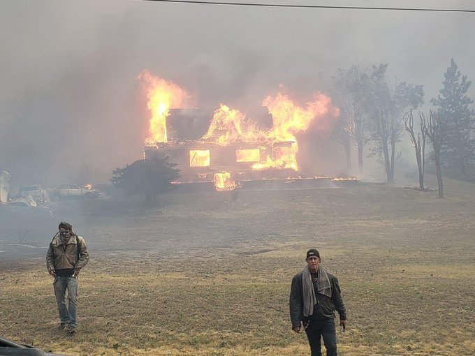 Fast-Moving Wildfire Destroys 80% Of Small Town In Eastern Washington State
