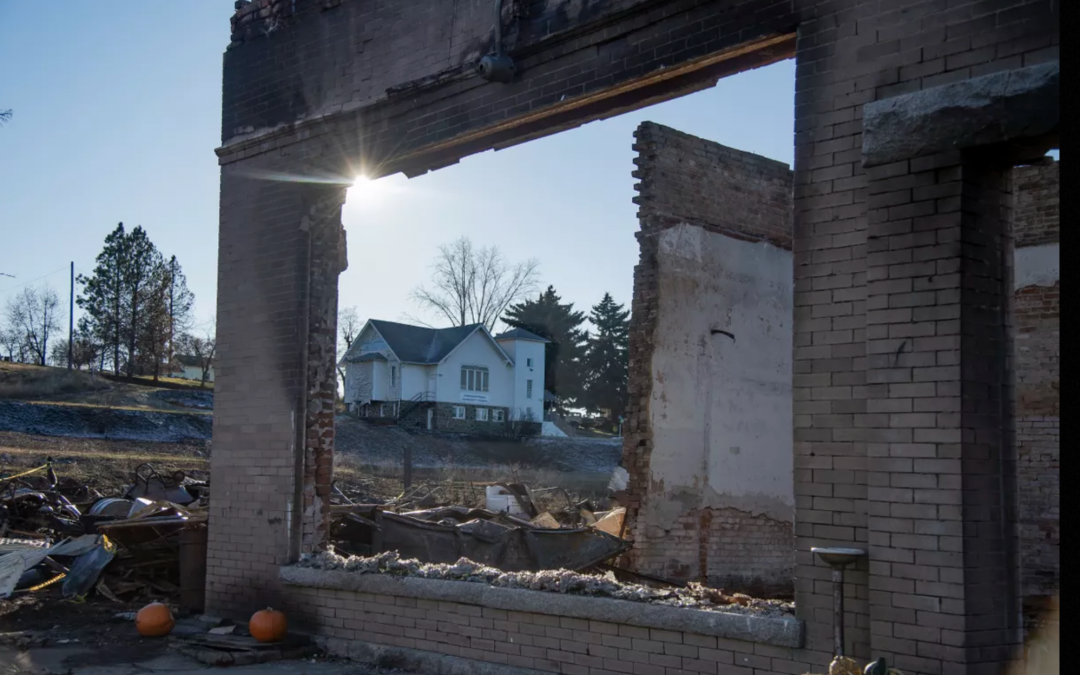 Three months after the fire, Malden's recovery effort is on the shoulders of local leaders