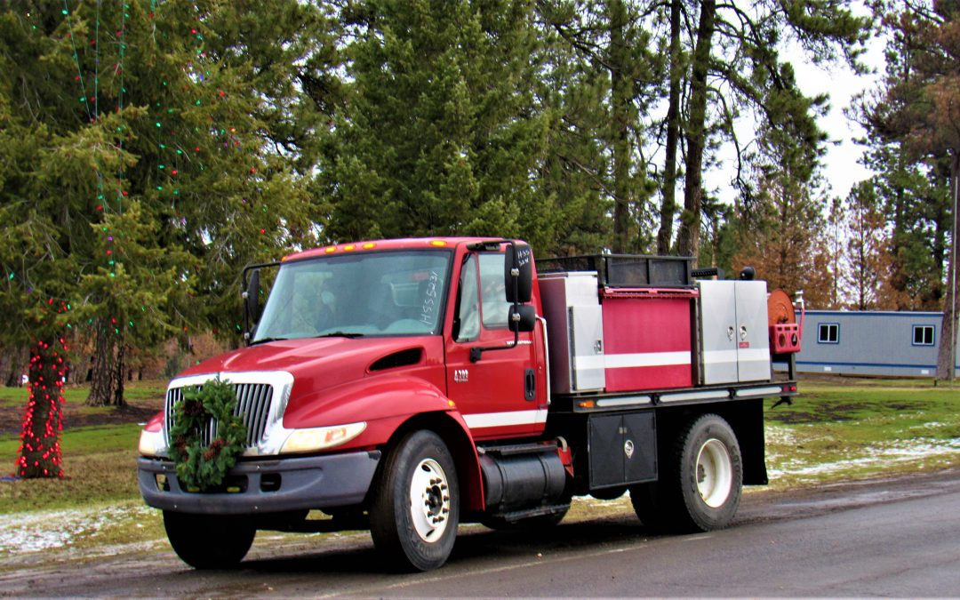Town of Malden Receives Fire Engine From Commissioner of Public Lands, Replacing Engine Lost in Labor Day Fire