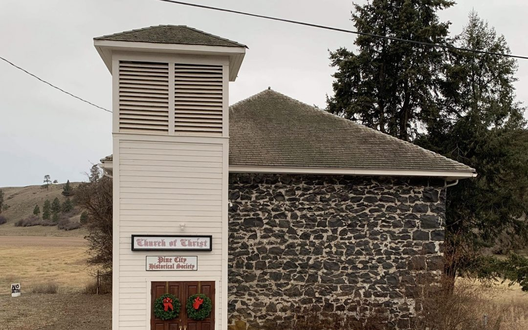The Stone Church of Pine City, Washington dates back to the early 1900s