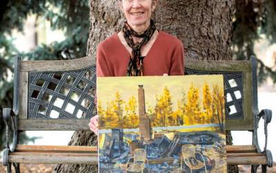 Pullman woman's art to benefit Malden