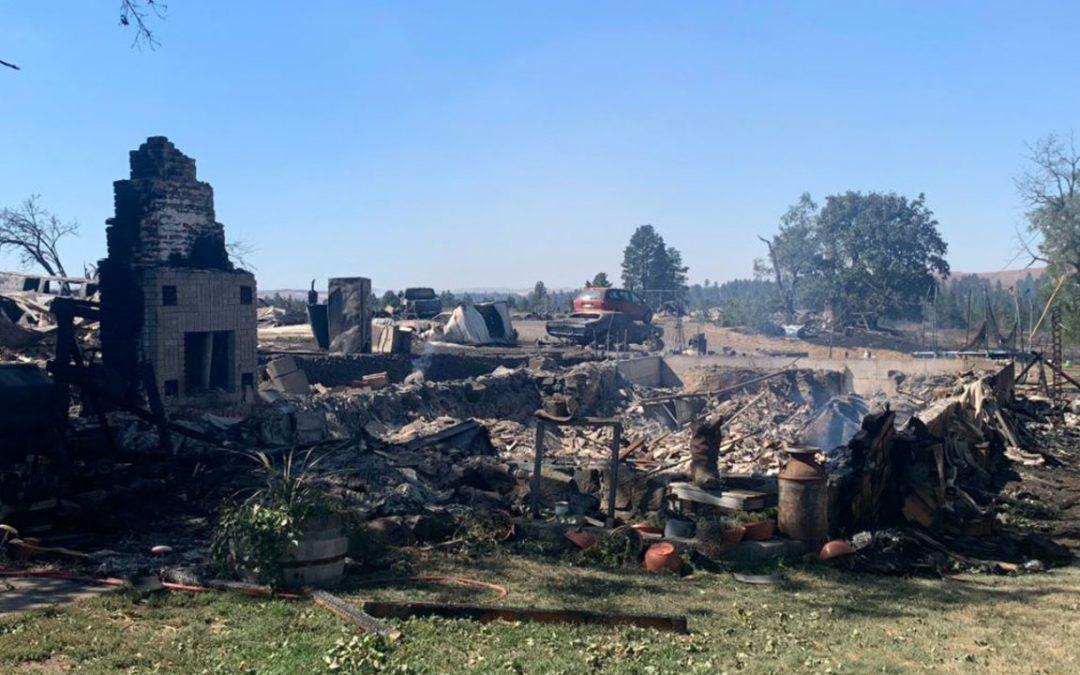 DNR Report: Damaged tree branch fell on Avista power line, starting devastating Malden wildfire