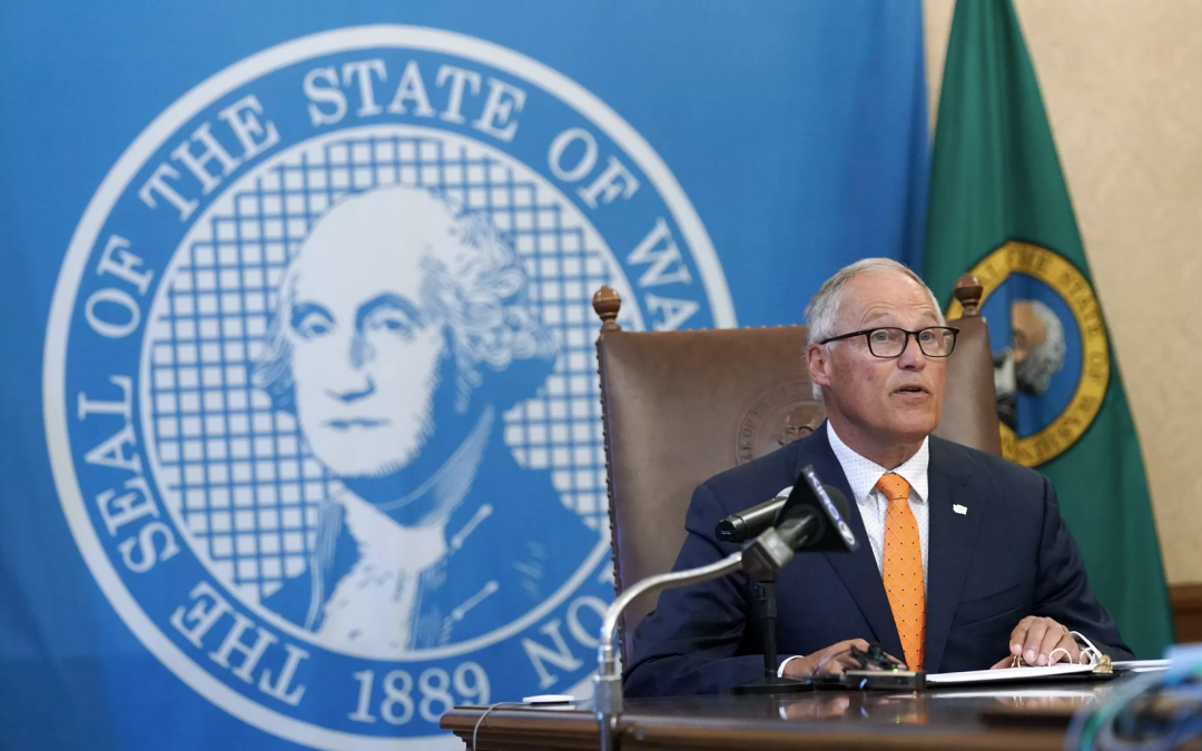 Inslee, Little not among Western governors set to attend White House meeting Wednesday on drought, wildfires