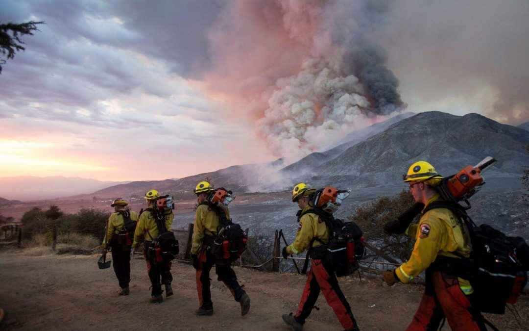 As wildfires rage, western states lean on Biden for promised federal aid