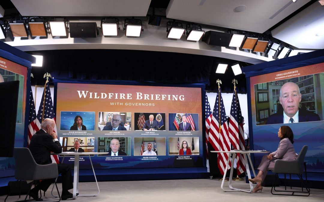 Remarks by President Biden and Vice President Harris in Virtual Meeting with Governors on Wildfires
