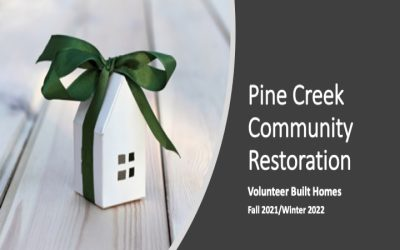 Phase 2 (Fa-Wi 2021-22)  Process for Volunteer Build Homes in Pine Creek Community